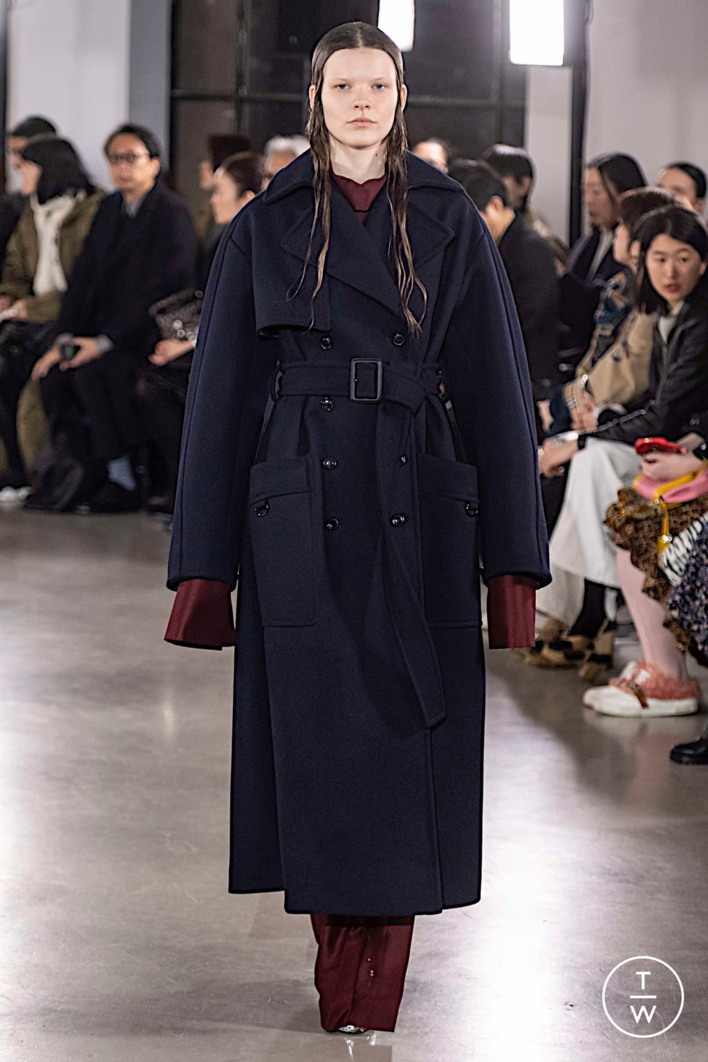 Fashion Week Paris Fall/Winter 2019 look 9 from the Cyclas collection womenswear