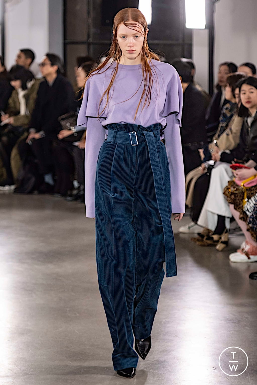 Fashion Week Paris Fall/Winter 2019 look 12 from the Cyclas collection womenswear