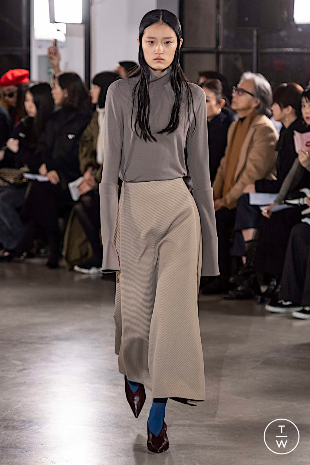 Fashion Week Paris Fall/Winter 2019 look 14 from the Cyclas collection womenswear