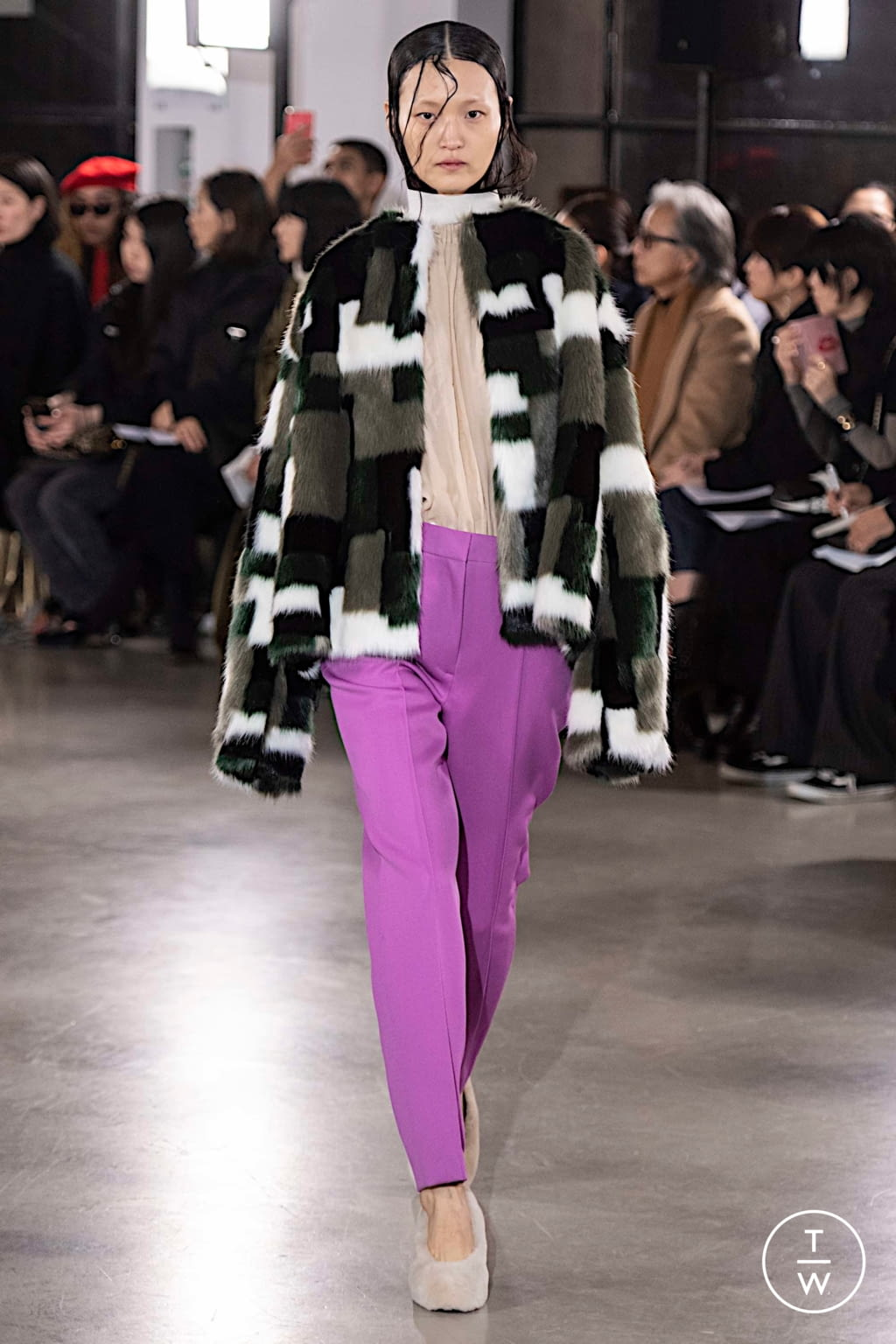 Fashion Week Paris Fall/Winter 2019 look 15 from the Cyclas collection womenswear