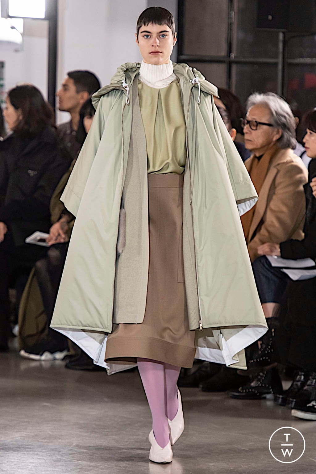 Fashion Week Paris Fall/Winter 2019 look 23 from the Cyclas collection womenswear