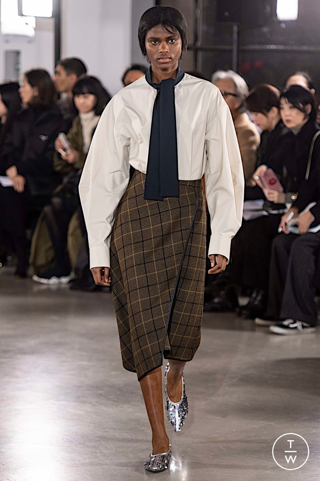 Fashion Week Paris Fall/Winter 2019 look 29 from the Cyclas collection womenswear