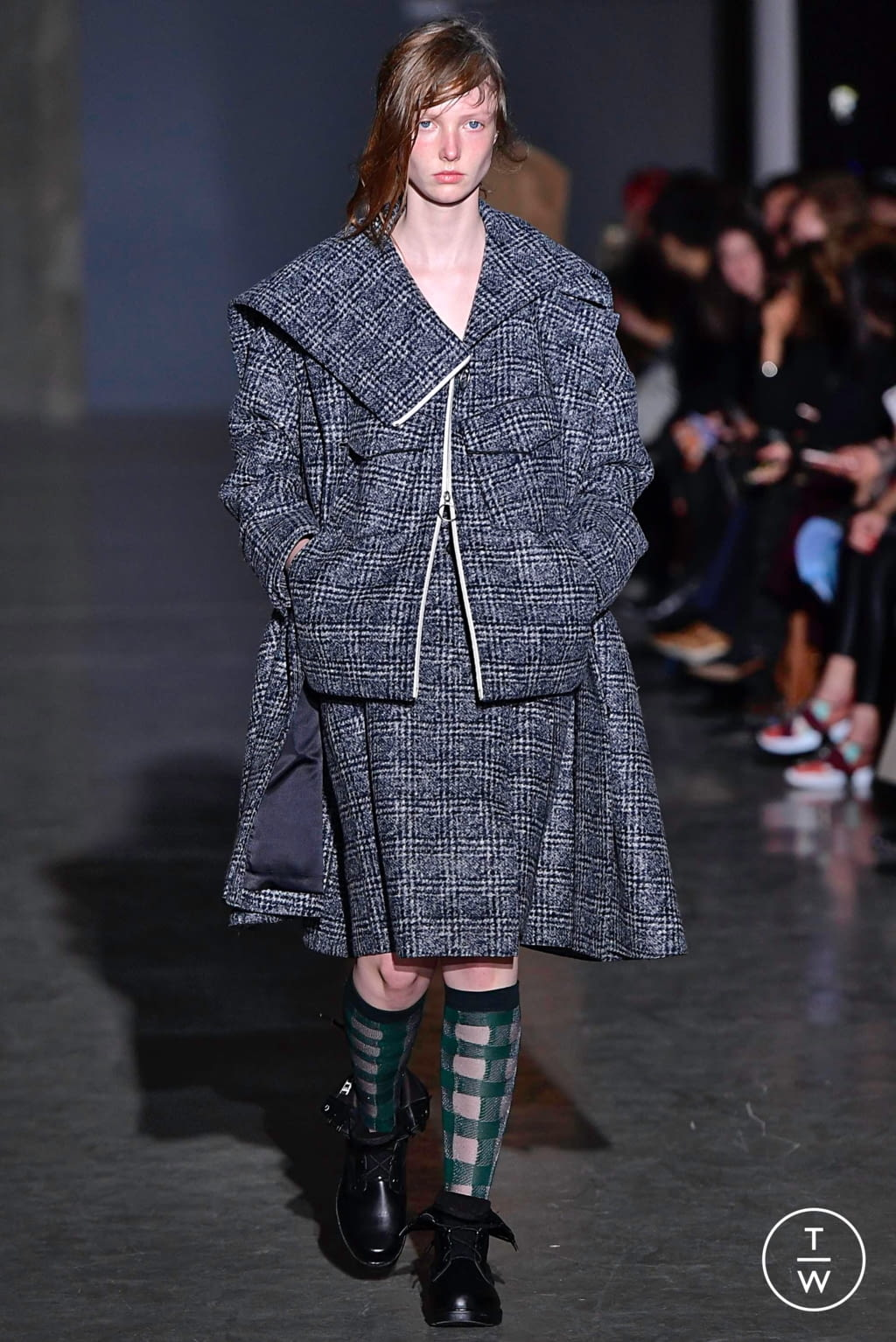 Fashion Week Paris Fall/Winter 2019 look 3 from the Dawei collection womenswear