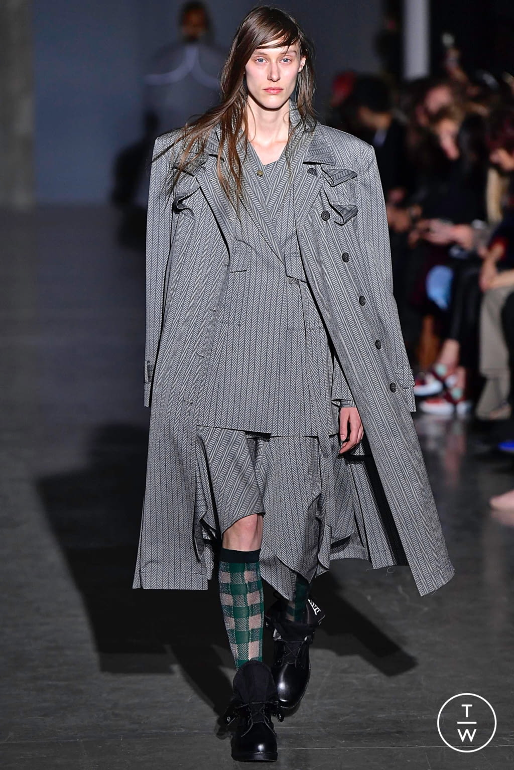 Fashion Week Paris Fall/Winter 2019 look 4 from the Dawei collection womenswear