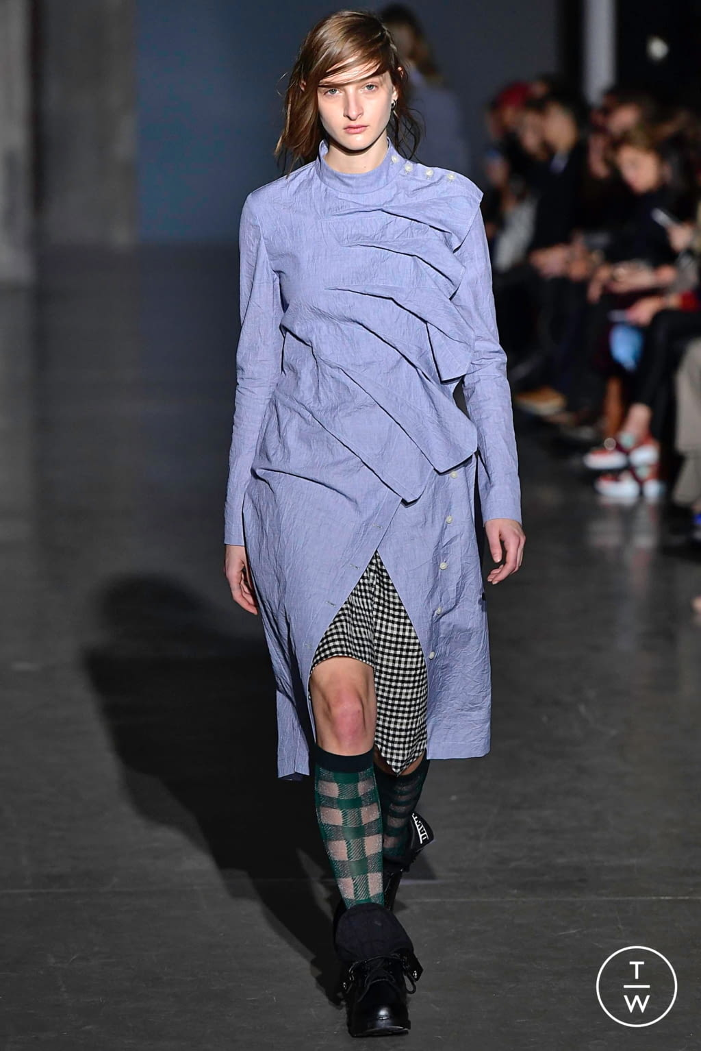 Fashion Week Paris Fall/Winter 2019 look 11 from the Dawei collection womenswear