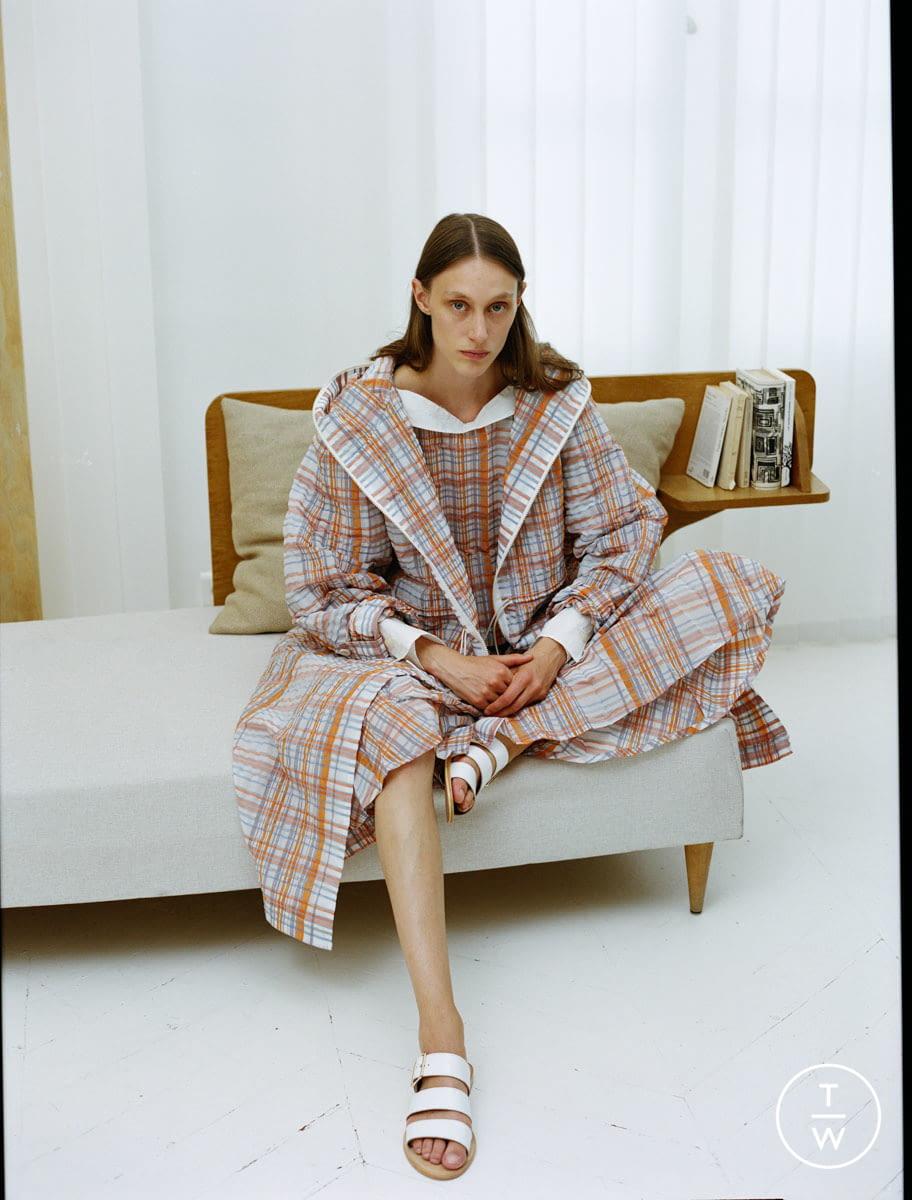 Fashion Week Paris Resort 2020 look 7 from the Dawei collection womenswear