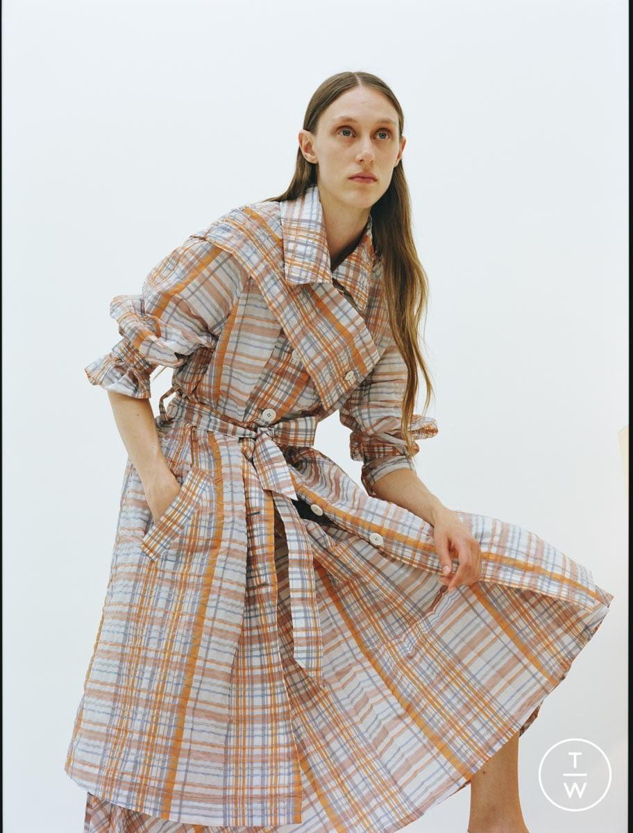 Fashion Week Paris Resort 2020 look 8 from the Dawei collection womenswear