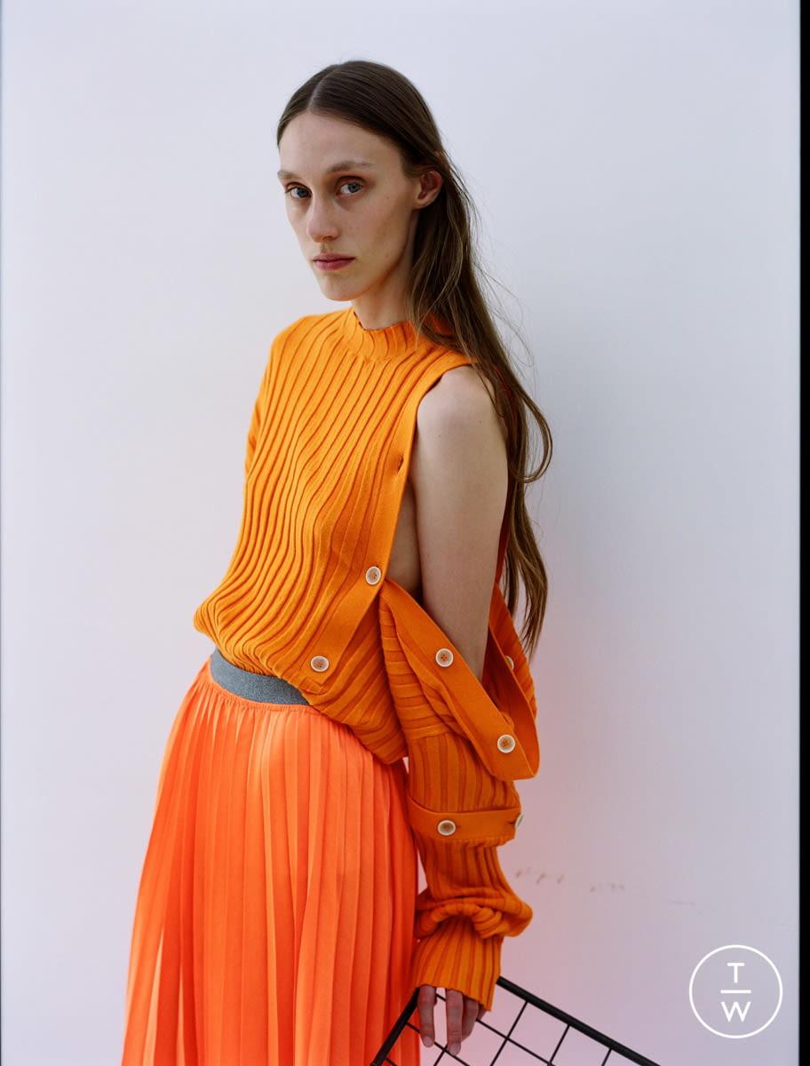 Fashion Week Paris Resort 2020 look 13 from the Dawei collection womenswear
