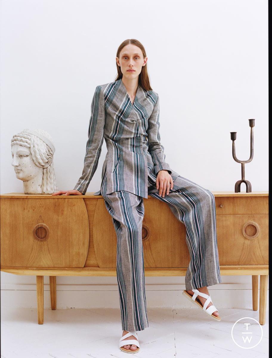 Fashion Week Paris Resort 2020 look 16 from the Dawei collection womenswear