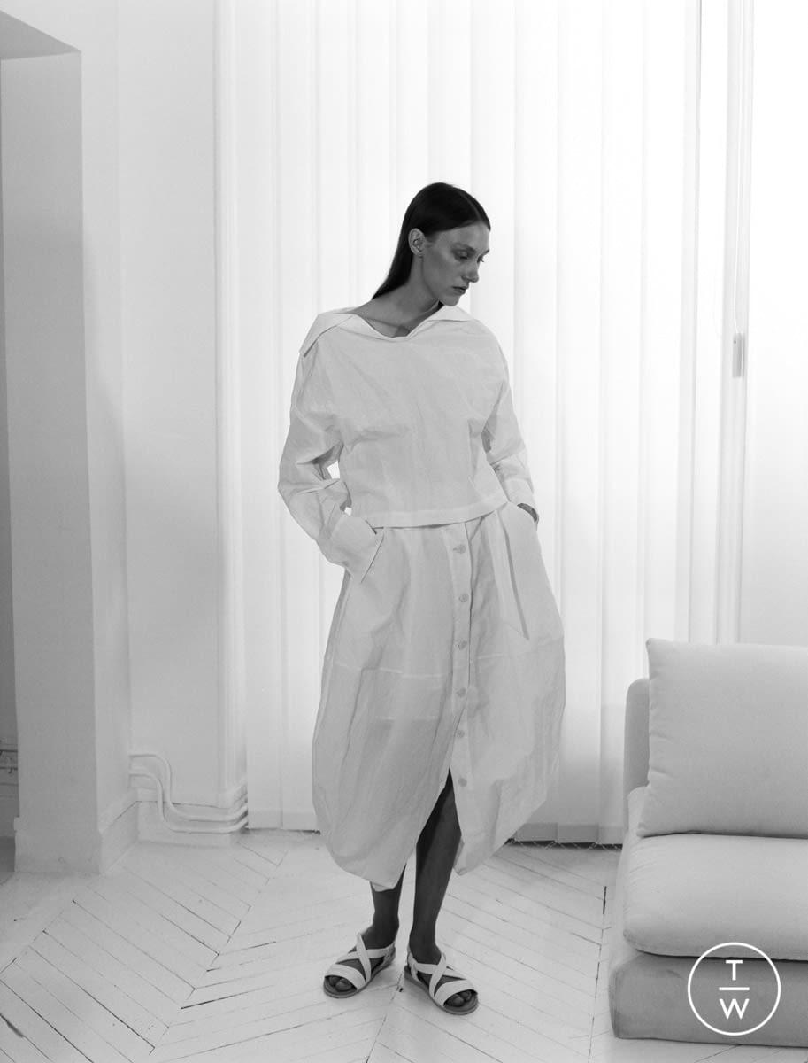 Fashion Week Paris Resort 2020 look 17 from the Dawei collection womenswear