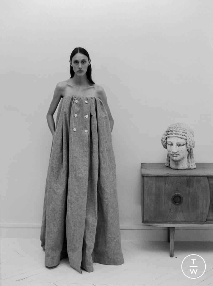 Fashion Week Paris Resort 2020 look 22 from the Dawei collection womenswear