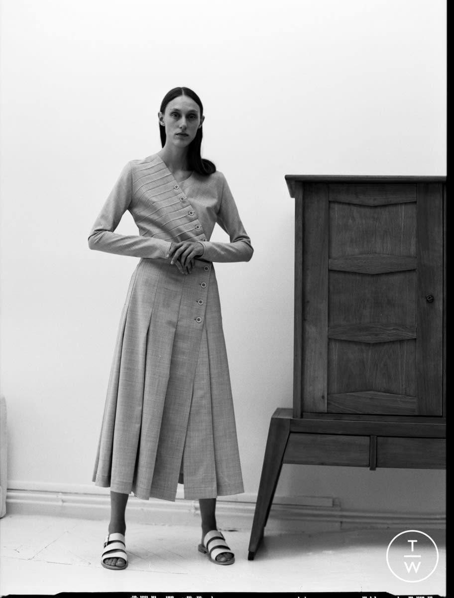 Fashion Week Paris Resort 2020 look 21 from the Dawei collection womenswear