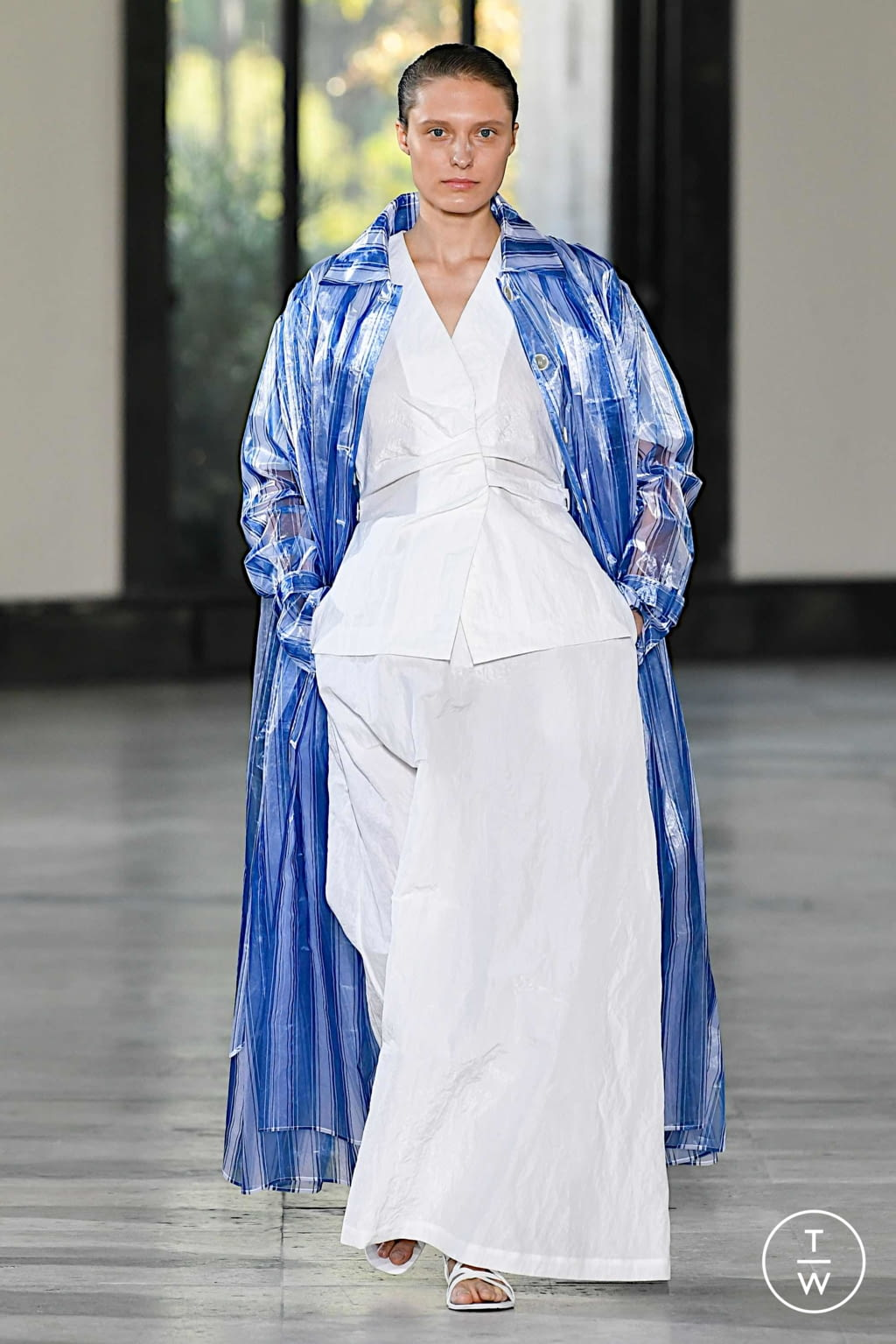 Fashion Week Paris Spring/Summer 2020 look 26 from the Dawei collection womenswear