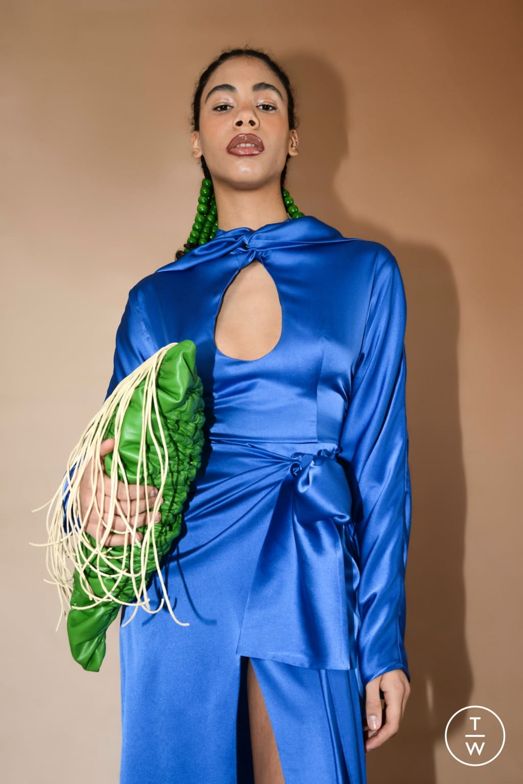 Fashion Week Paris Fall/Winter 2020 look 7 from the Materiel collection womenswear