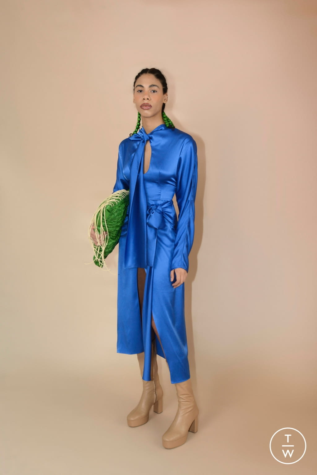 Fashion Week Paris Fall/Winter 2020 look 8 from the Materiel collection womenswear