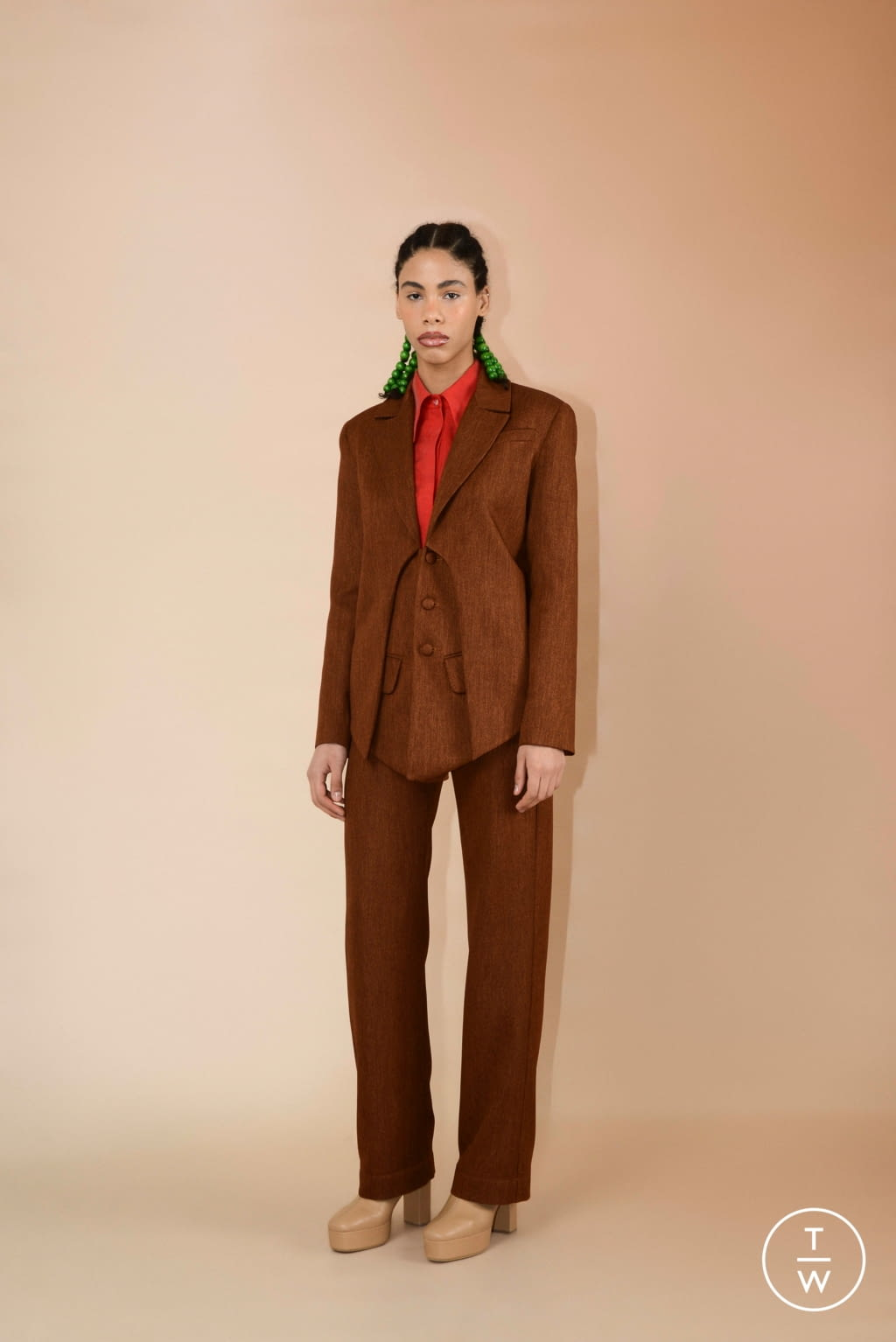Fashion Week Paris Fall/Winter 2020 look 13 from the Materiel collection womenswear