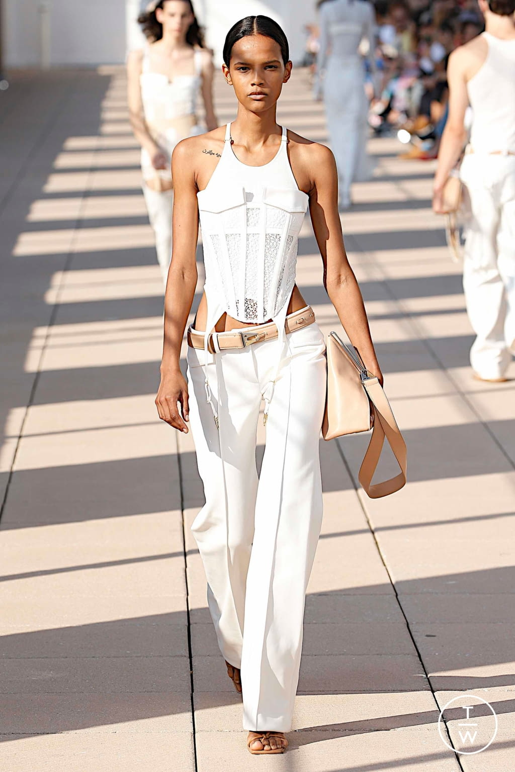 Fashion Week New York Spring/Summer 2020 look 4 from the Dion Lee collection womenswear