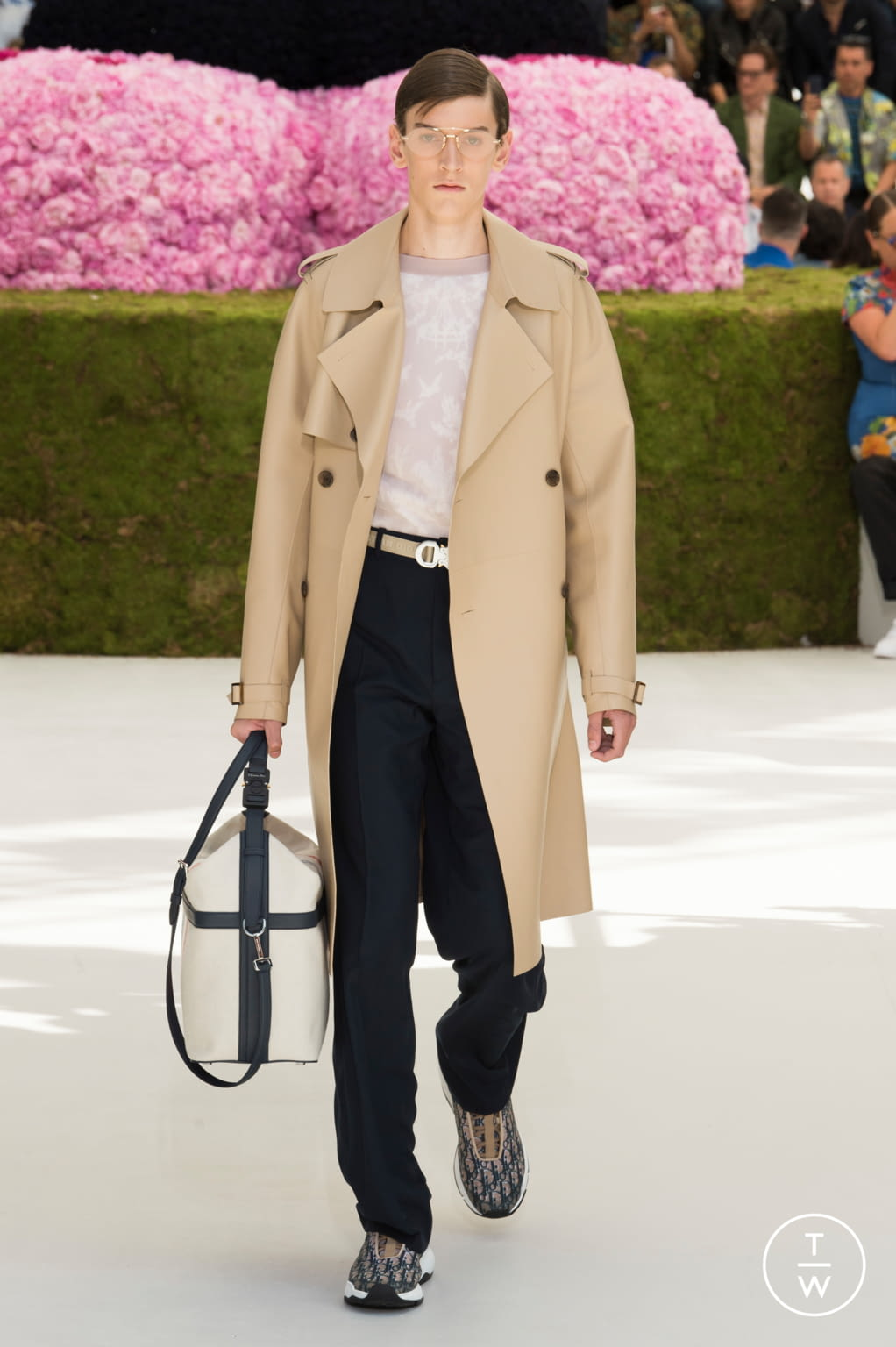 Fashion Week Paris Spring/Summer 2019 look 25 de la collection Dior Homme menswear