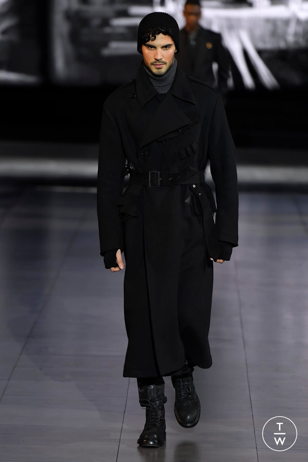 Fashion Week Milan Fall/Winter 2020 look 16 from the Dolce & Gabbana collection menswear