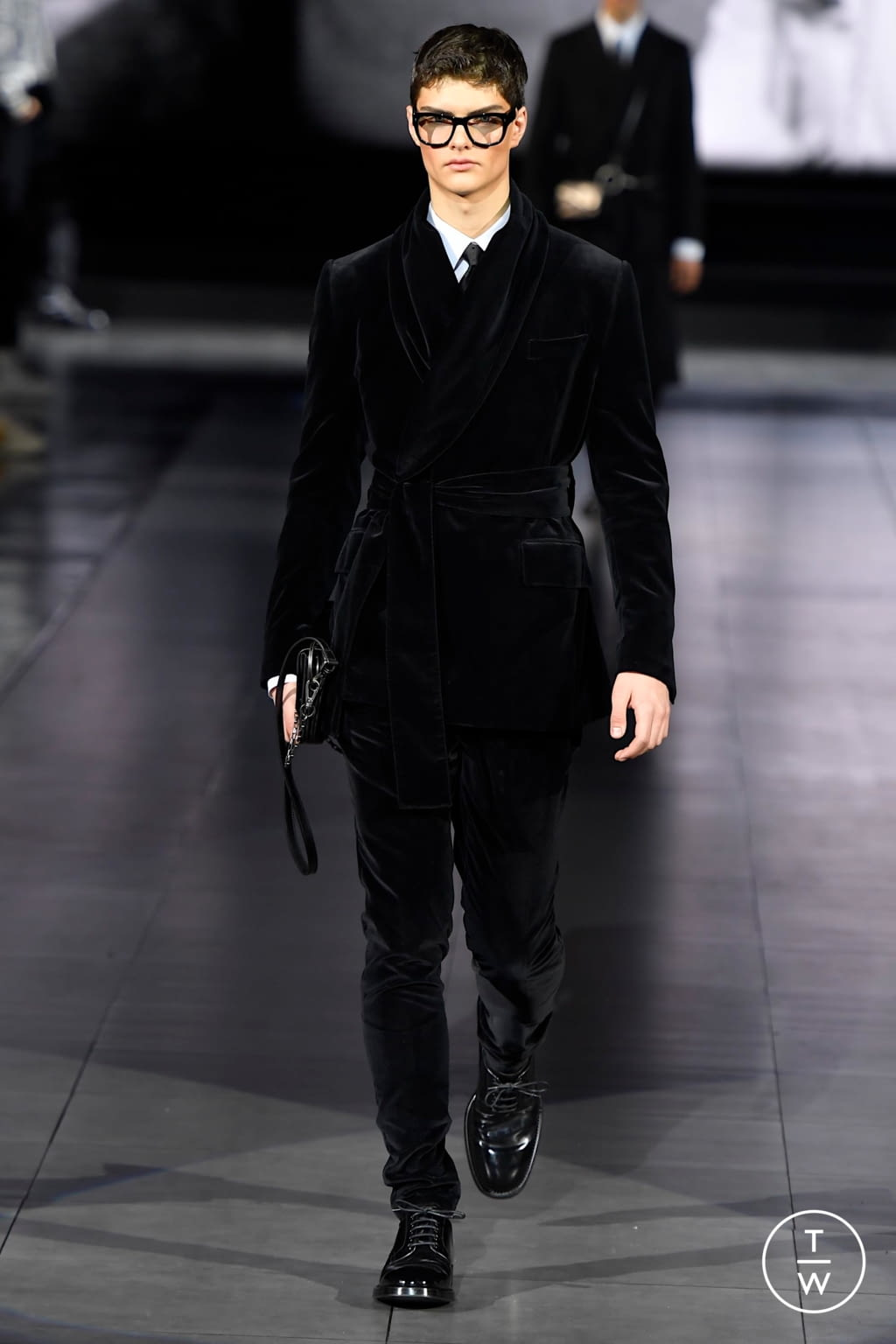 Fashion Week Milan Fall/Winter 2020 look 92 from the Dolce & Gabbana collection menswear