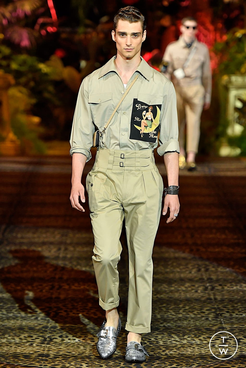 Fashion Week Milan Spring/Summer 2020 look 1 from the Dolce & Gabbana collection menswear