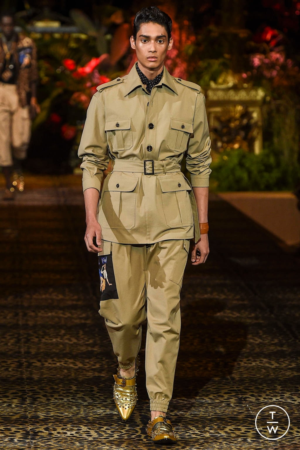Fashion Week Milan Spring/Summer 2020 look 8 from the Dolce & Gabbana collection menswear