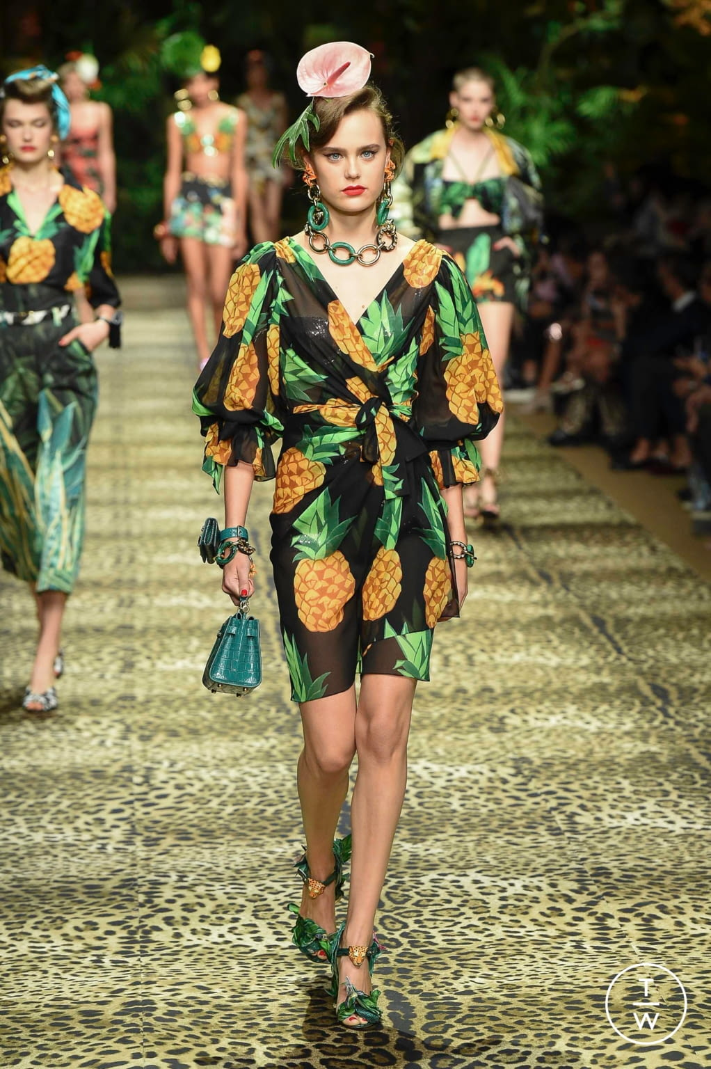 Fashion Week Milan Spring/Summer 2020 look 67 from the Dolce & Gabbana collection 女装