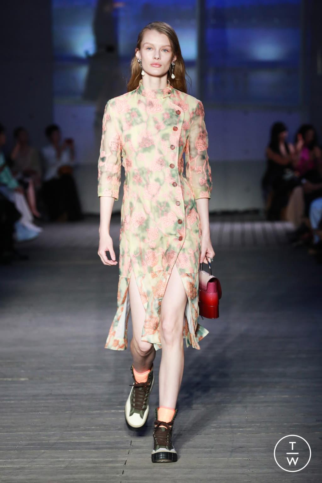 Fashion Week Paris Resort 2020 look 3 de la collection Chloé womenswear