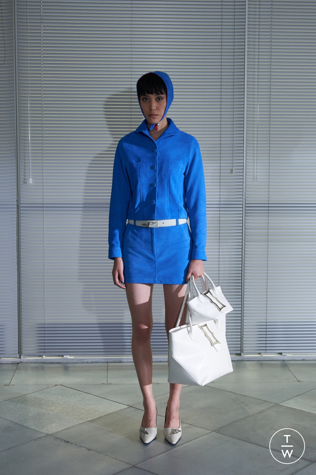 Fashion Week London Spring/Summer 2019 look 5 from the Dorateymur collection womenswear accessories