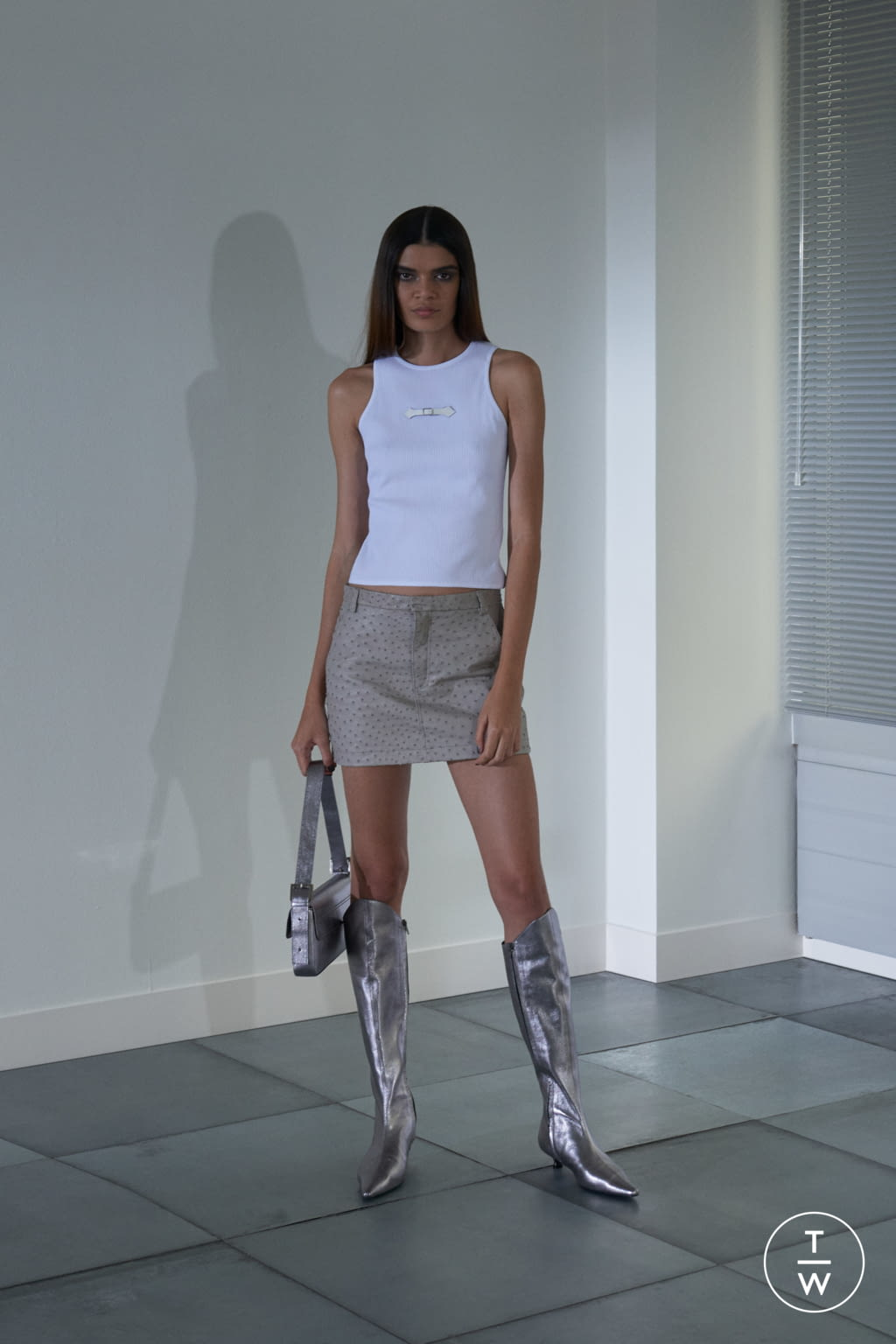 Fashion Week London Spring/Summer 2019 look 7 from the Dorateymur collection womenswear accessories
