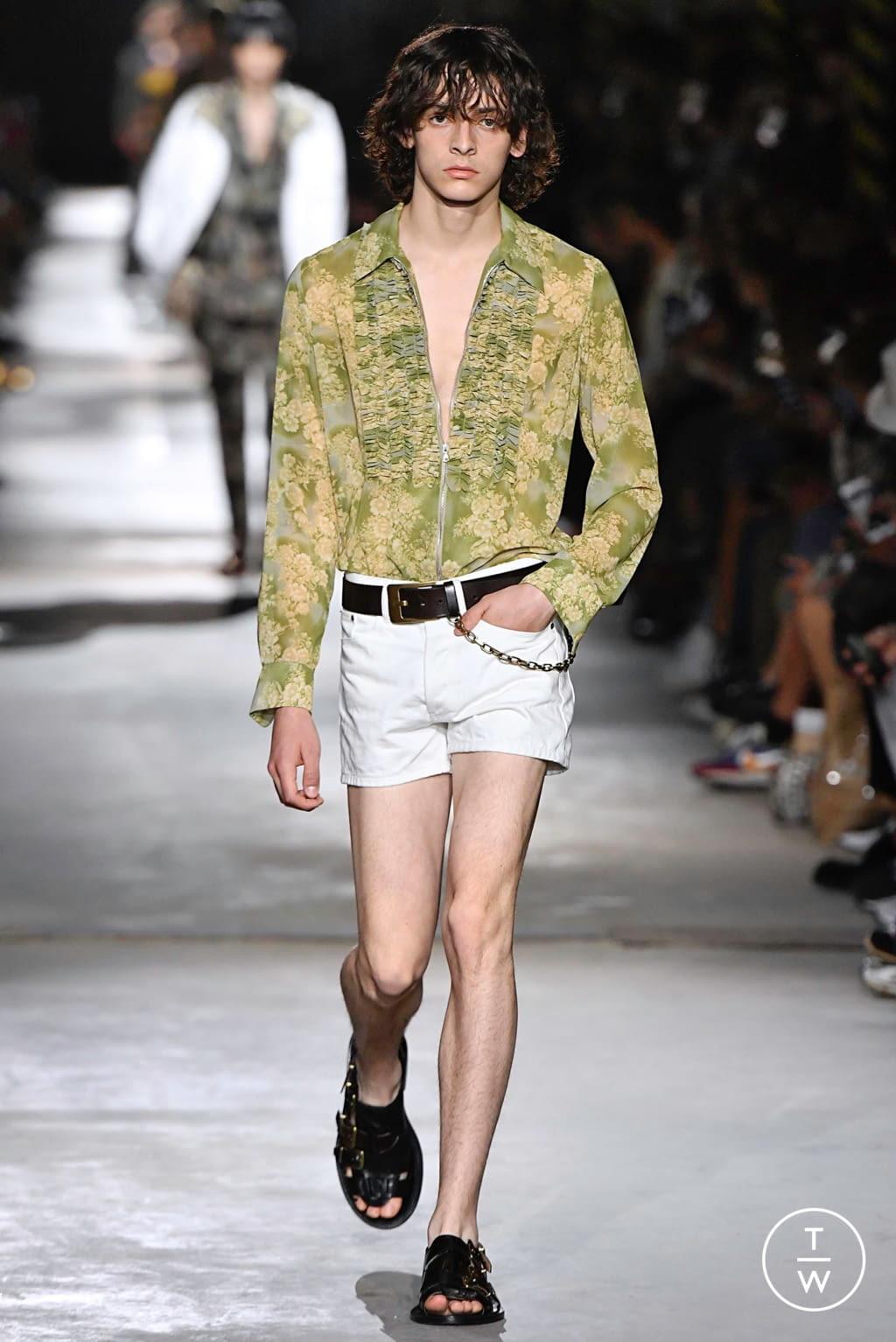 Fashion Week Paris Spring/Summer 2020 look 3 from the Dries Van Noten collection menswear