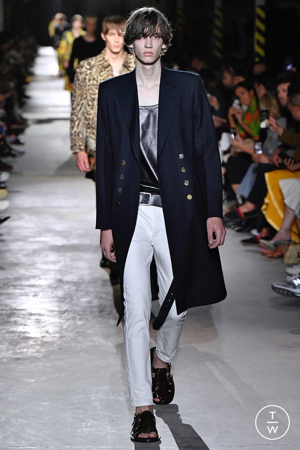 Fashion Week Paris Spring/Summer 2020 look 8 from the Dries Van Noten collection menswear