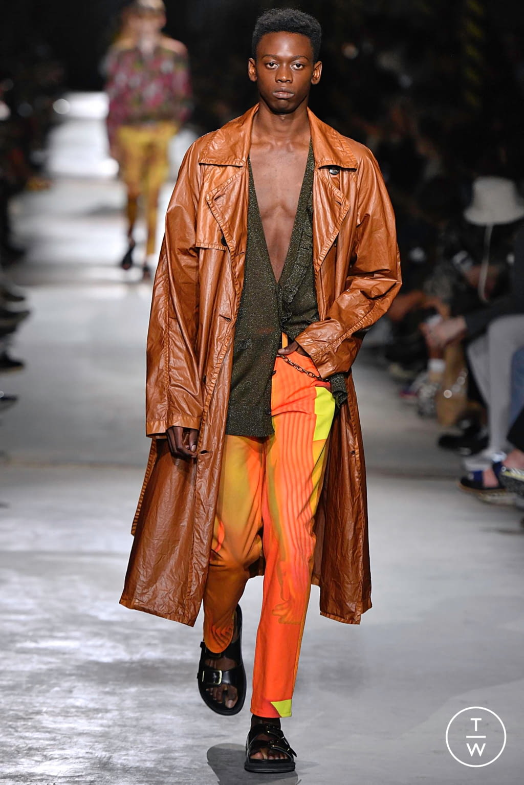 Fashion Week Paris Spring/Summer 2020 look 47 from the Dries Van Noten collection menswear
