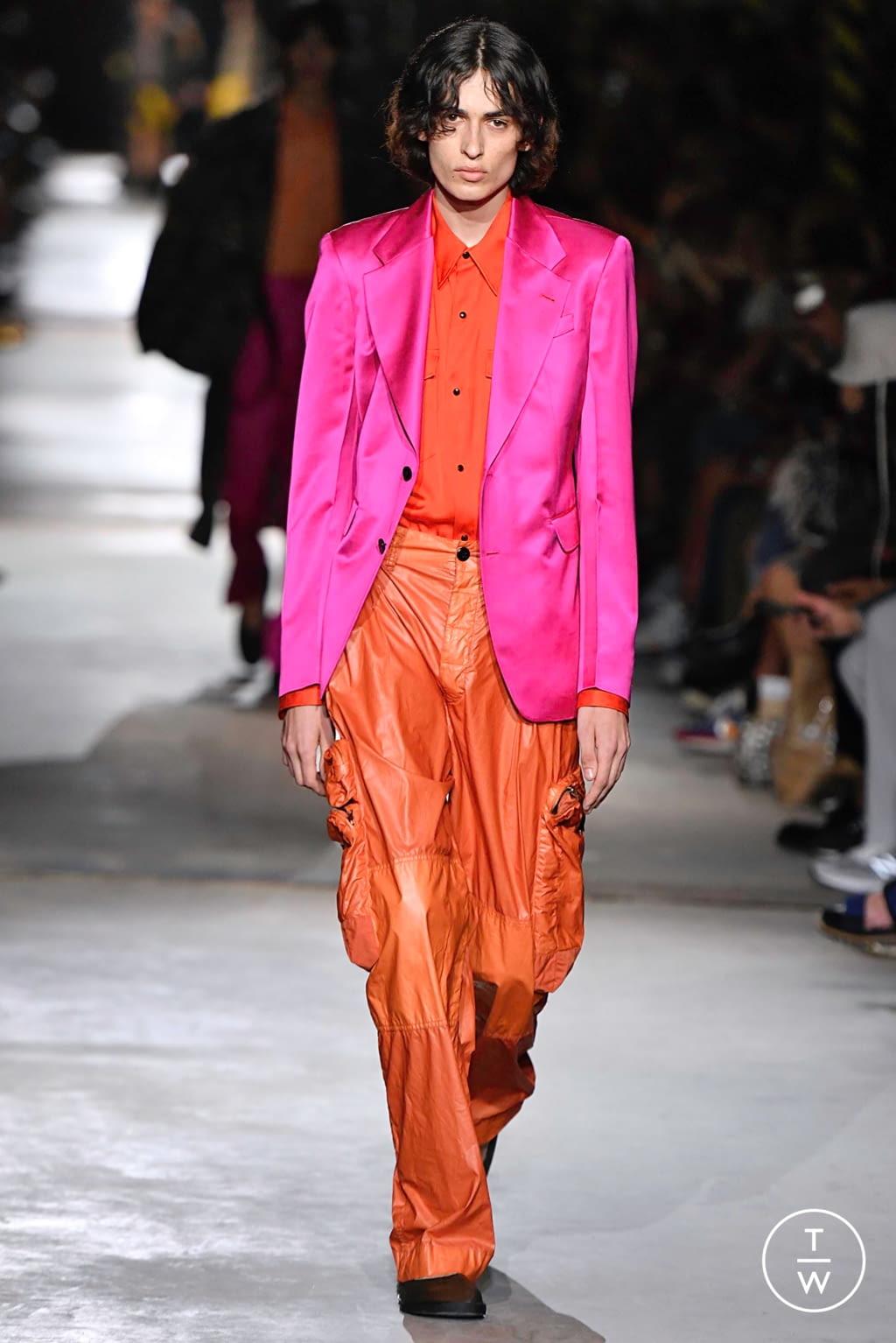 Fashion Week Paris Spring/Summer 2020 look 59 de la collection Dries Van Noten menswear