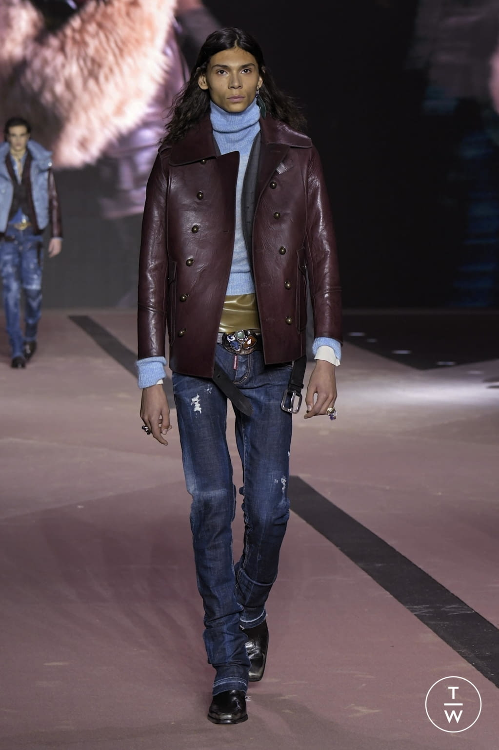 Fashion Week Milan Fall/Winter 2020 look 38 from the Dsquared2 collection menswear