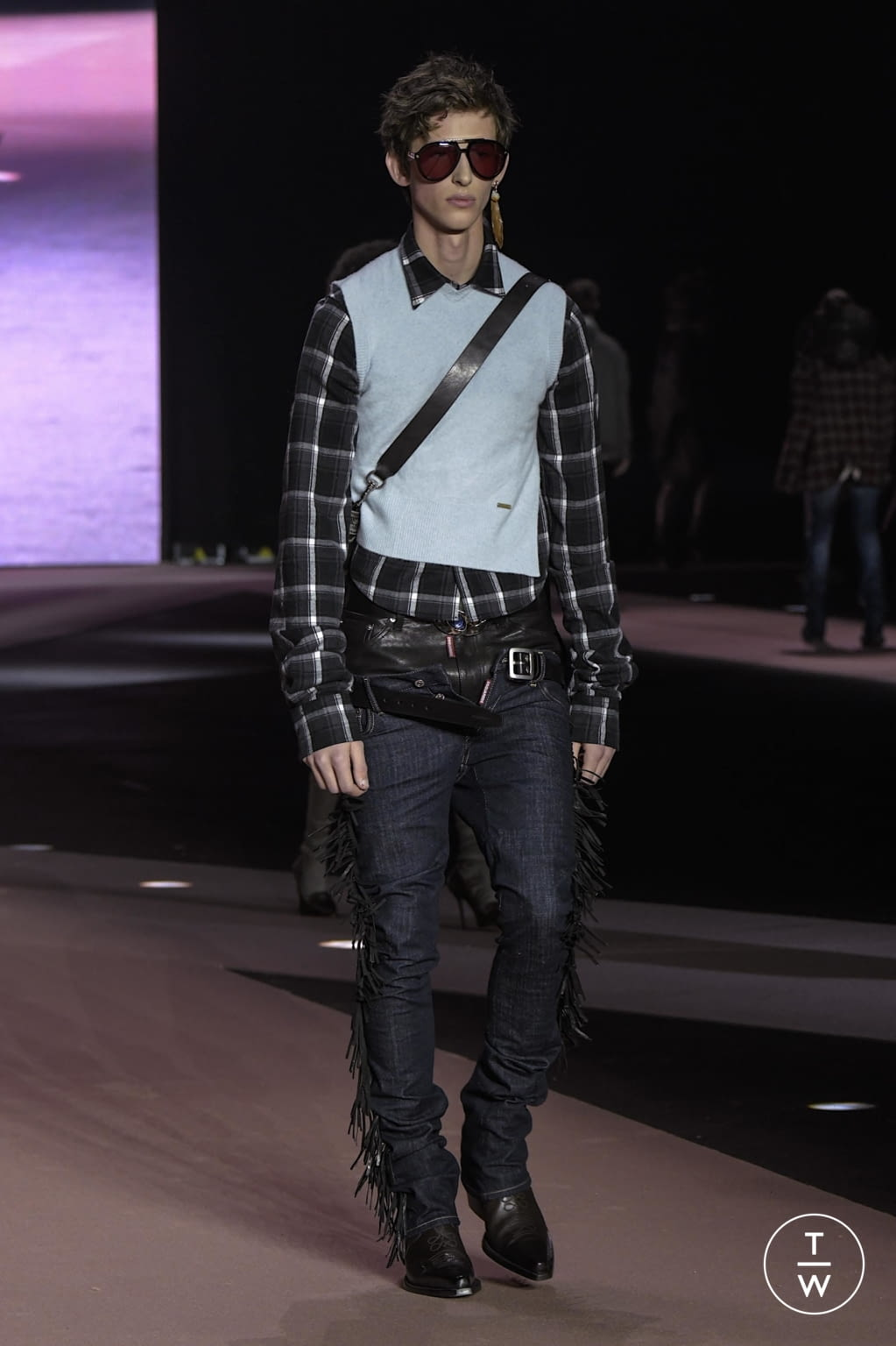 Fashion Week Milan Fall/Winter 2020 look 41 from the Dsquared2 collection menswear