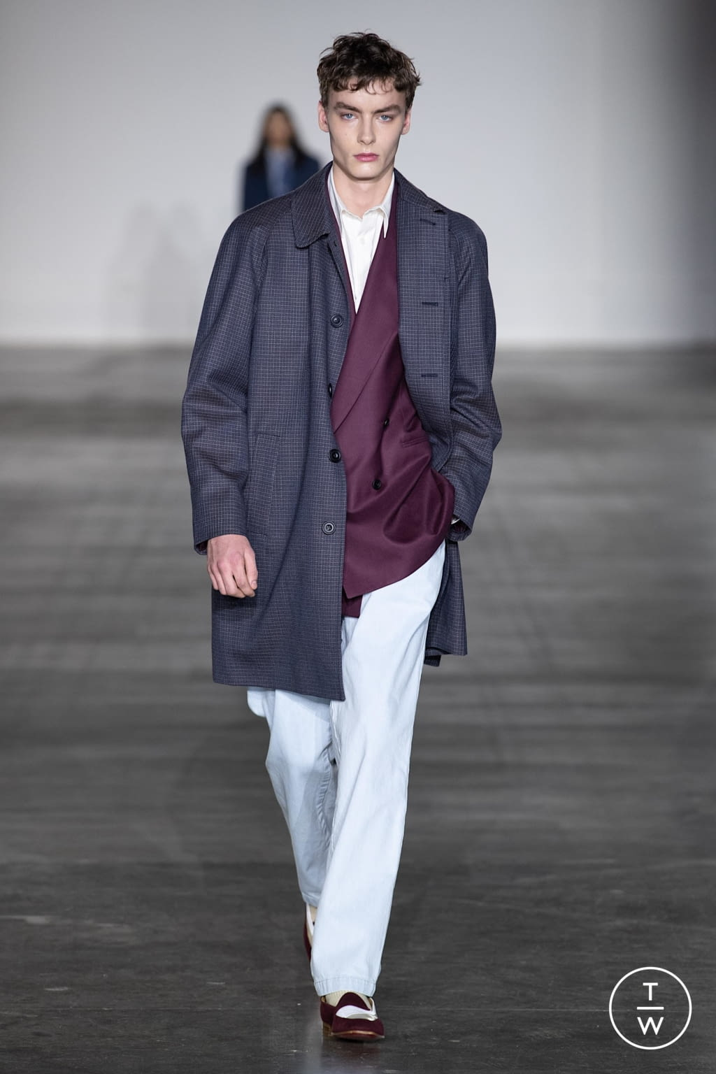 Fashion Week London Fall/Winter 2020 look 8 from the E. Tautz collection menswear