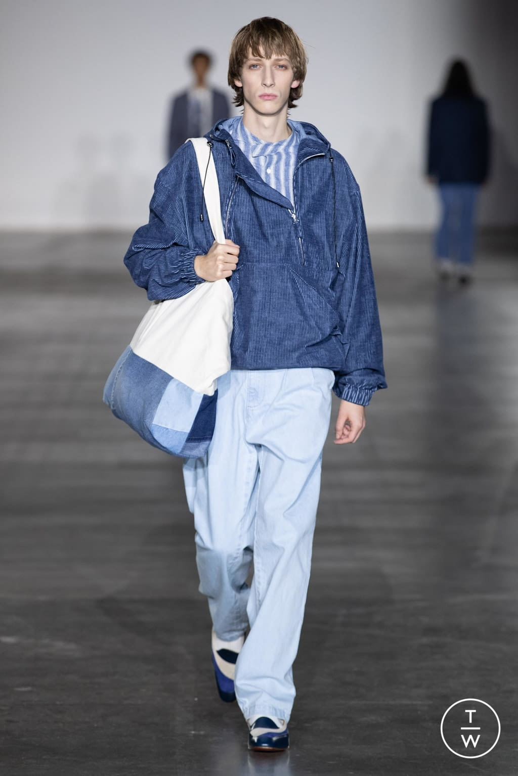 Fashion Week London Fall/Winter 2020 look 11 from the E. Tautz collection menswear