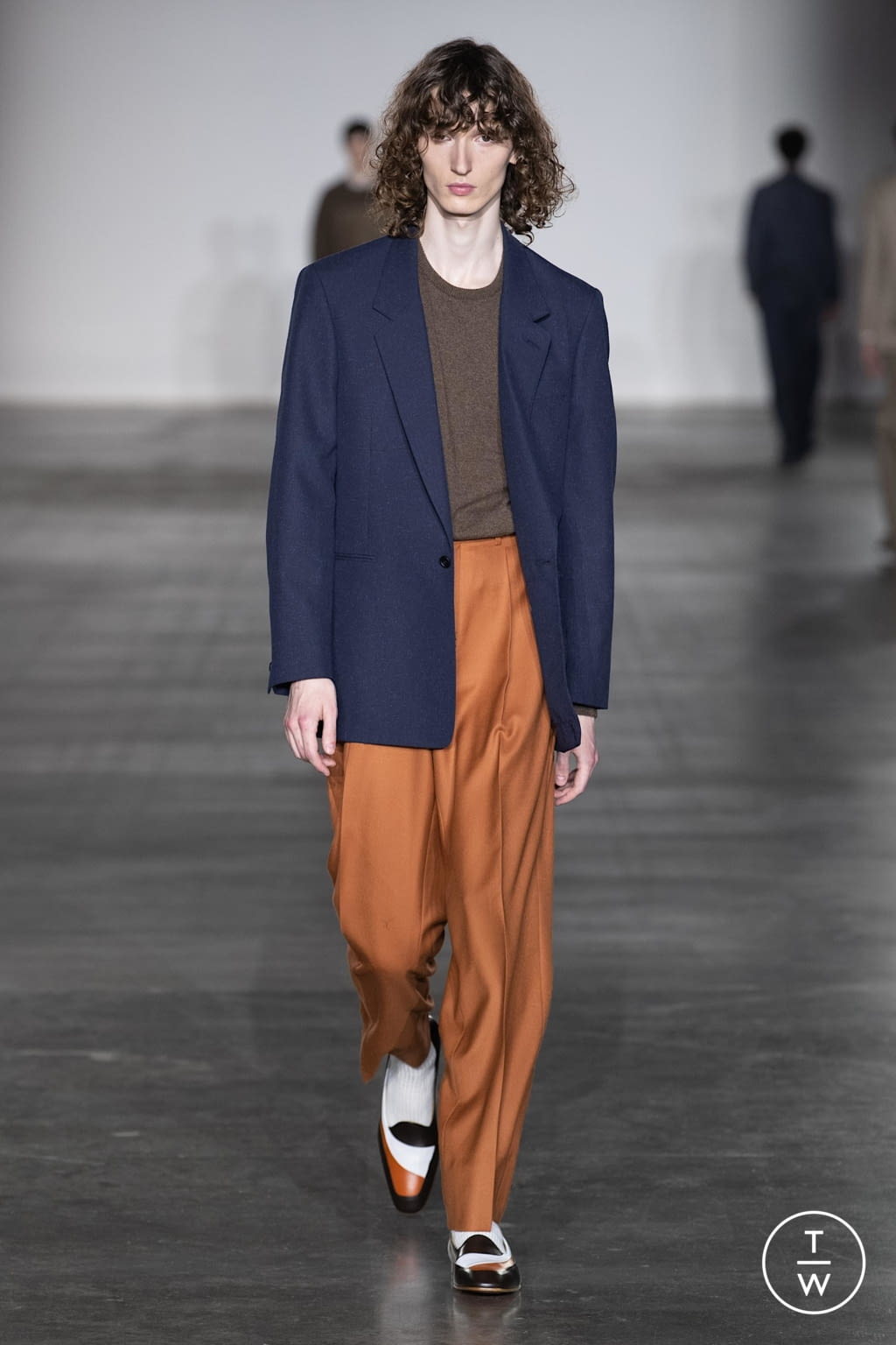 Fashion Week London Fall/Winter 2020 look 15 from the E. Tautz collection menswear