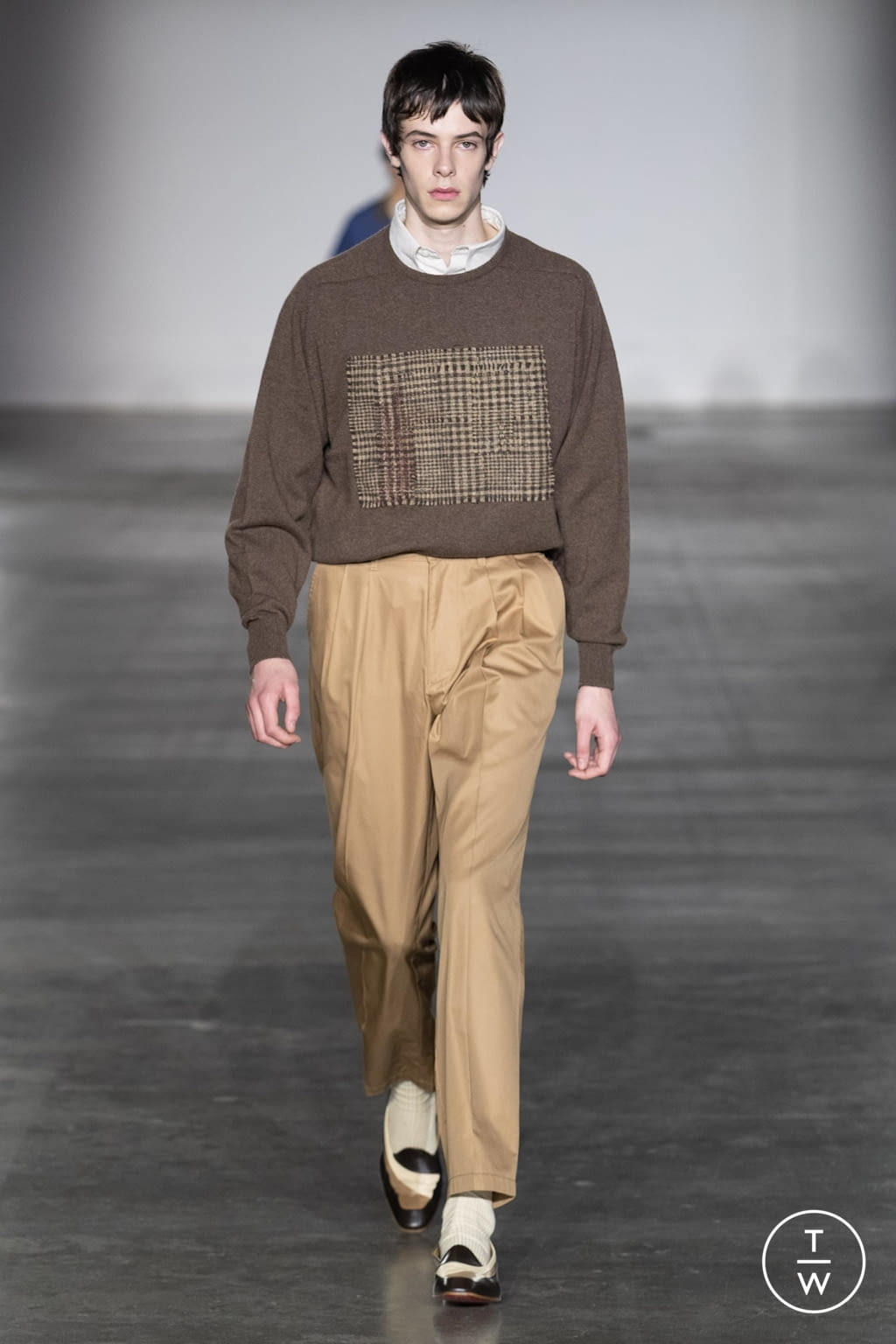 Fashion Week London Fall/Winter 2020 look 16 from the E. Tautz collection menswear