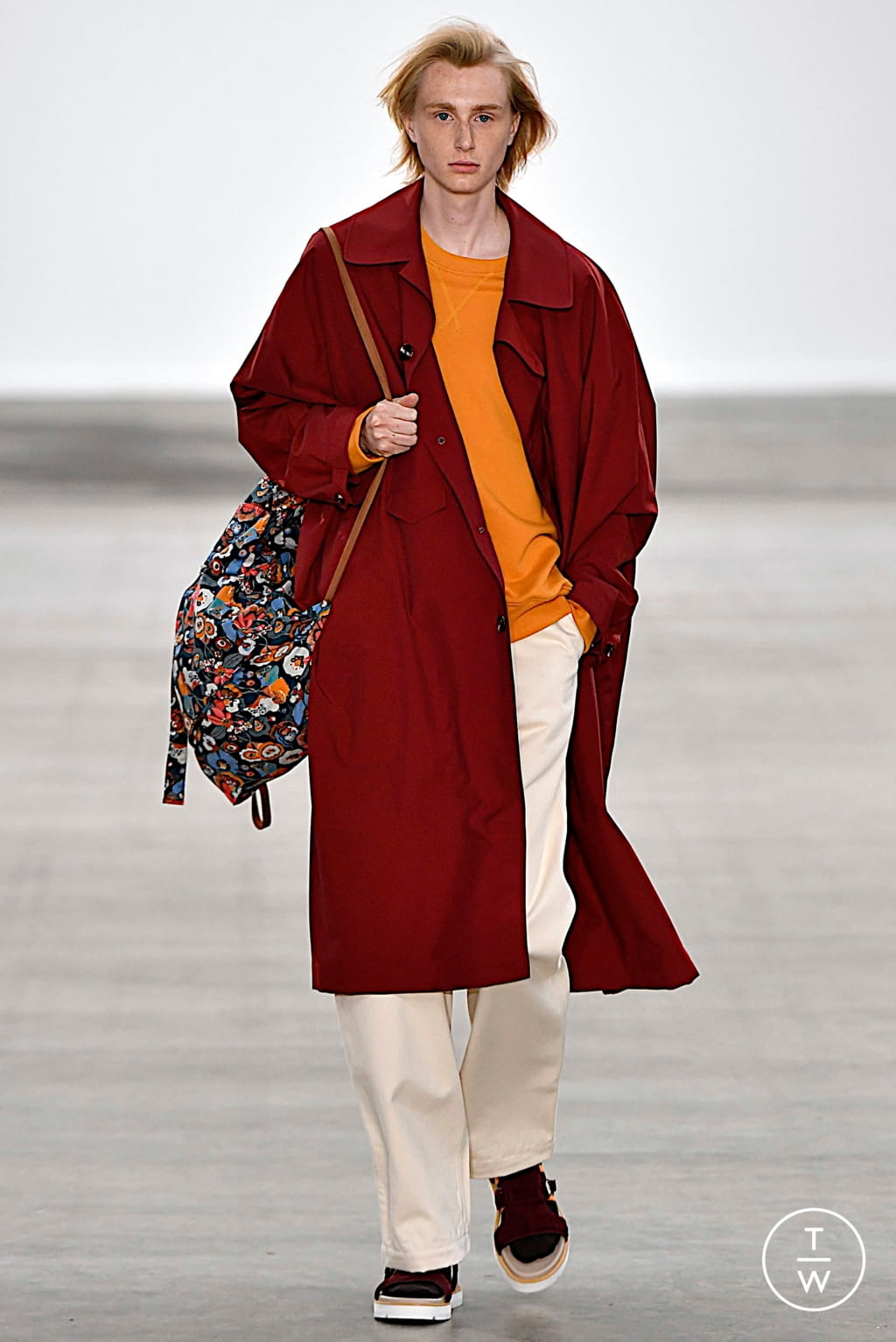 Fashion Week London Spring/Summer 2020 look 4 de la collection E. Tautz menswear