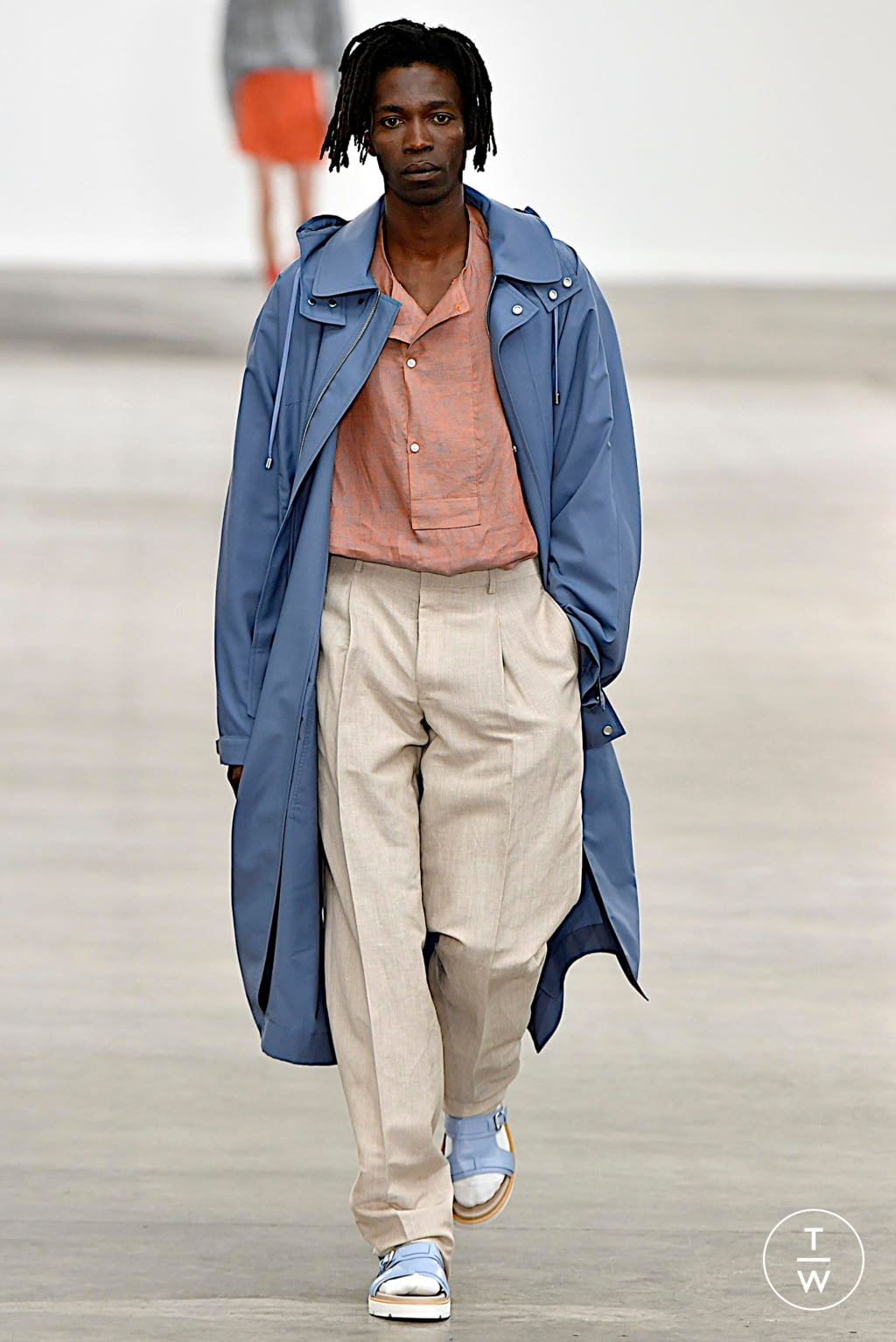 Fashion Week London Spring/Summer 2020 look 22 from the E. Tautz collection menswear