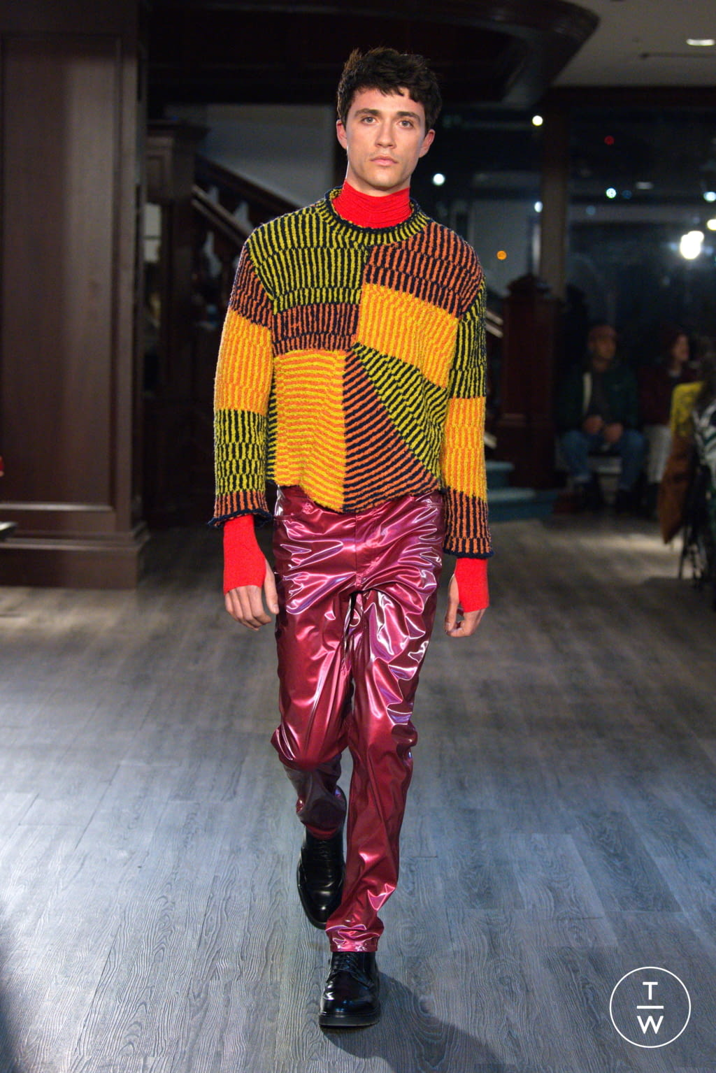 Fashion Week New York Fall/Winter 2020 look 19 from the Eckhaus Latta collection womenswear