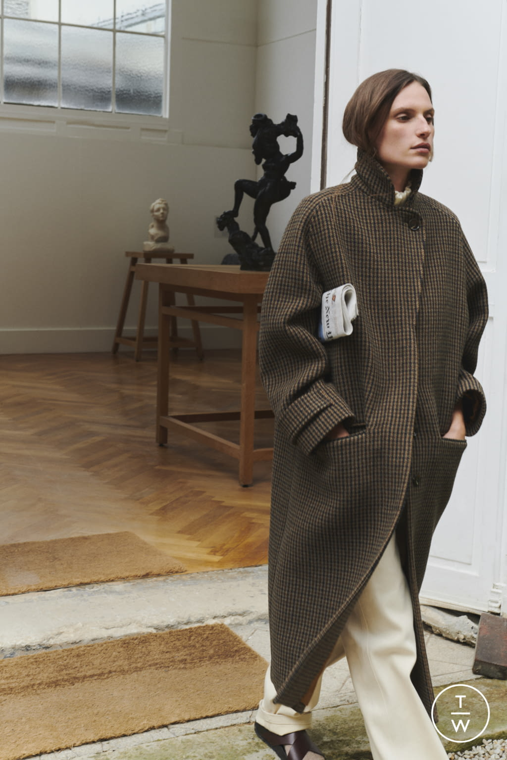 Fashion Week Paris Fall/Winter 2021 look 53 from the Soeur collection womenswear