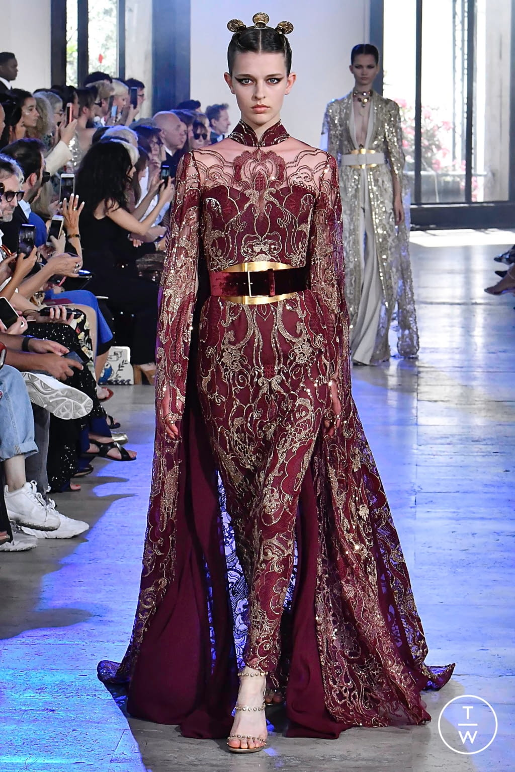 Fashion Week Paris Fall/Winter 2019 look 28 from the Elie Saab collection couture