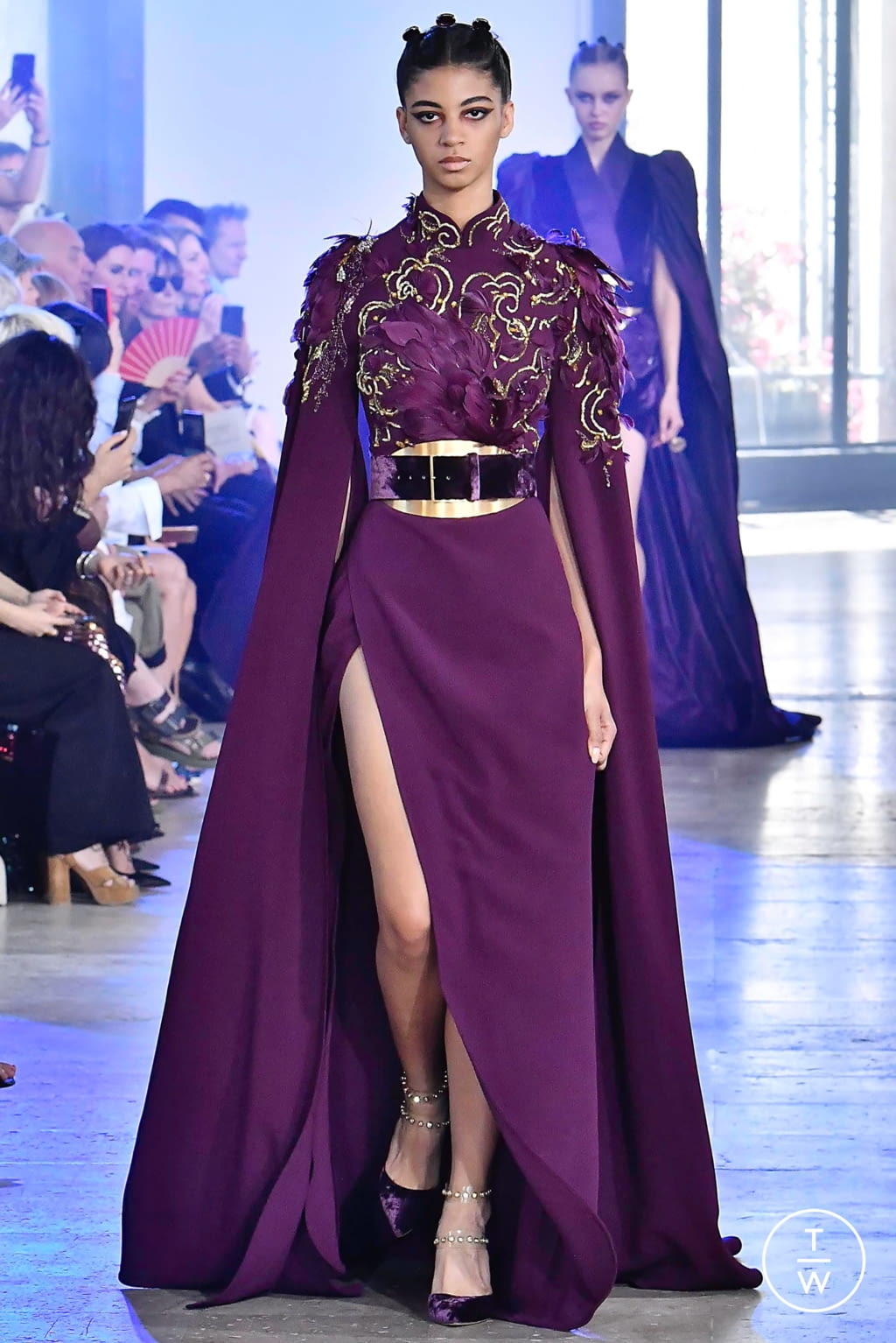 Fashion Week Paris Fall/Winter 2019 look 34 from the Elie Saab collection couture