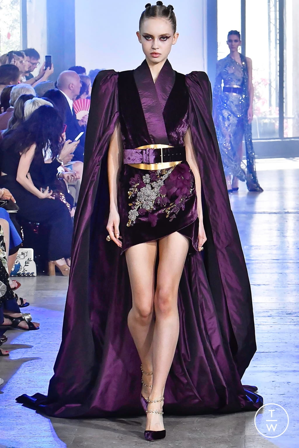 Fashion Week Paris Fall/Winter 2019 look 35 from the Elie Saab collection couture