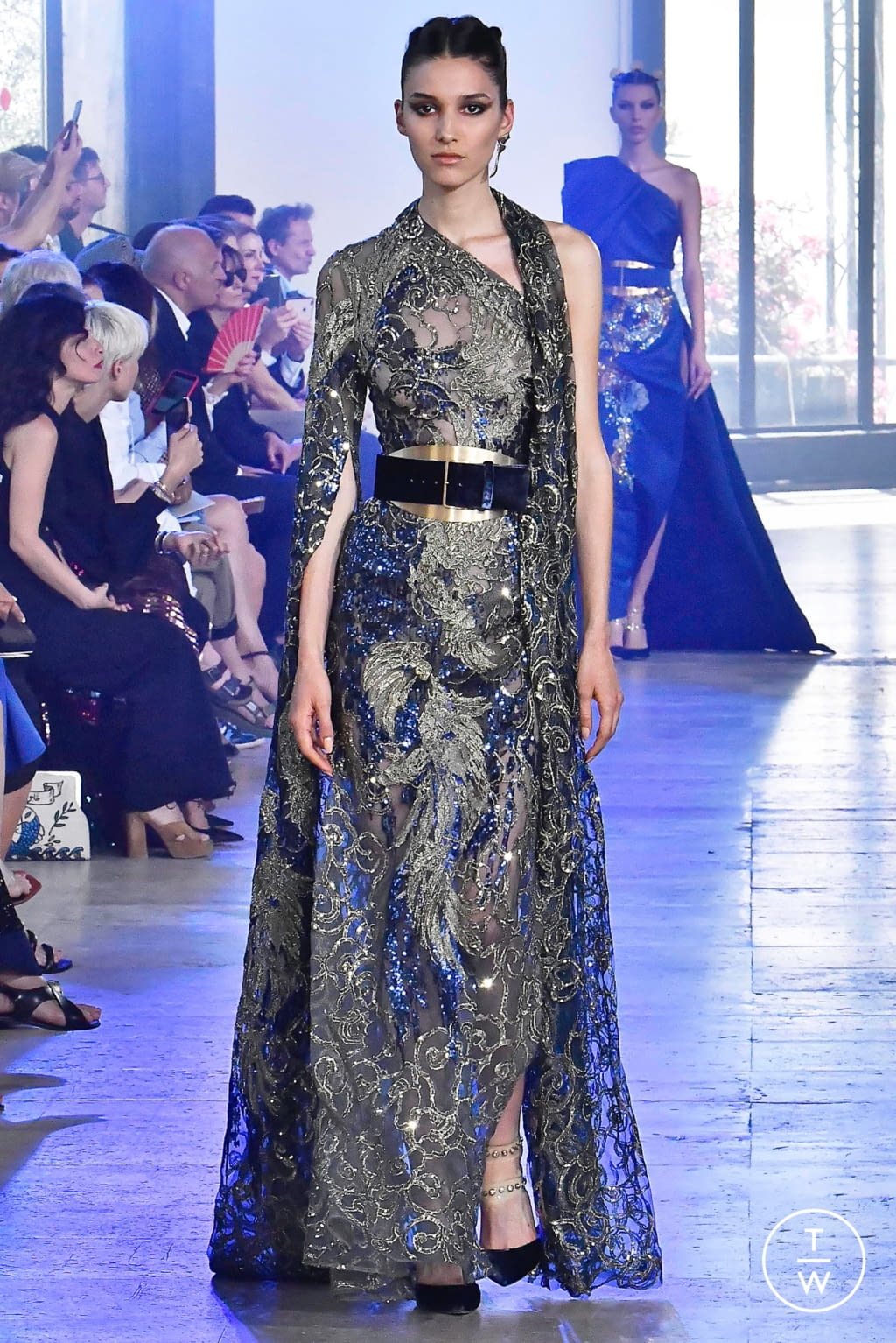 Fashion Week Paris Fall/Winter 2019 look 36 from the Elie Saab collection couture