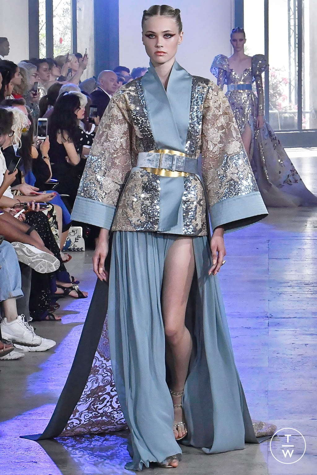 Fashion Week Paris Fall/Winter 2019 look 41 from the Elie Saab collection couture
