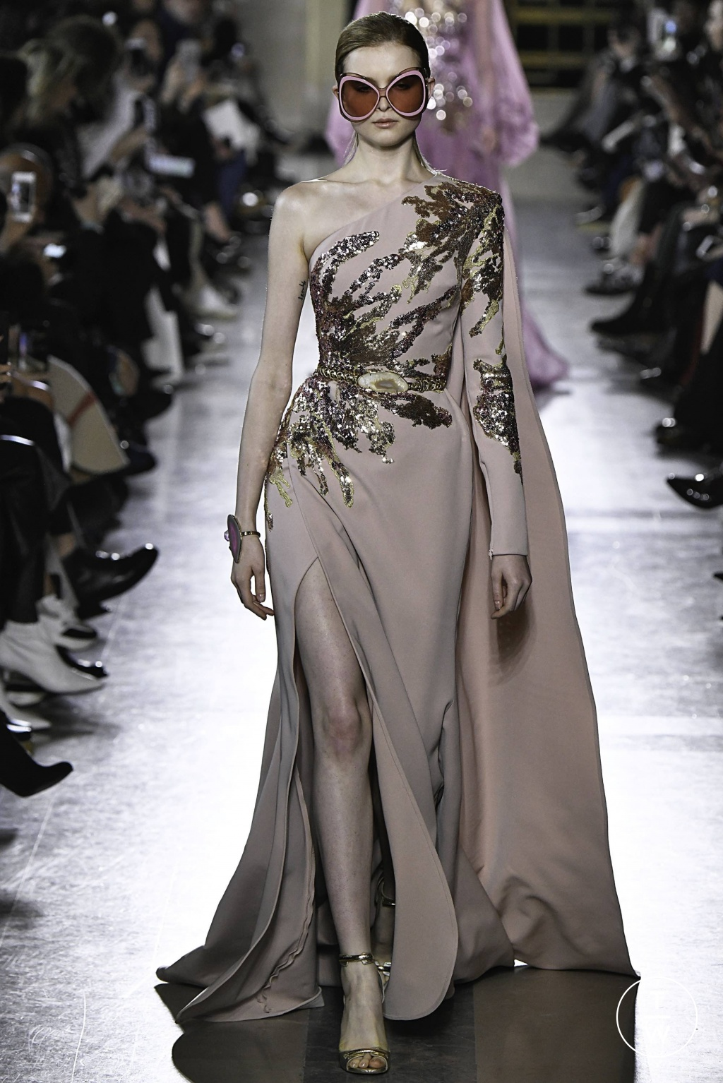 Fashion Week Paris Spring/Summer 2019 look 9 from the Elie Saab collection 高级定制